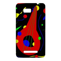 Abstract guitar  HTC One SU T528W Hardshell Case