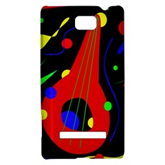 Abstract guitar  HTC 8S Hardshell Case