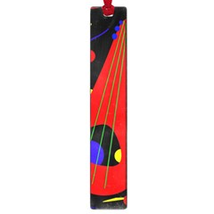 Abstract guitar  Large Book Marks