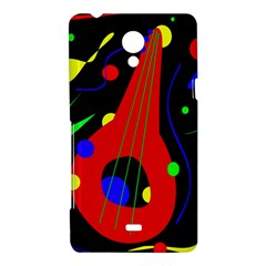 Abstract guitar  Sony Xperia T