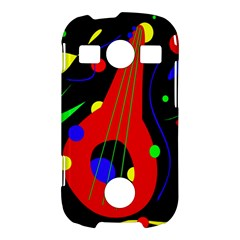 Abstract guitar  Samsung Galaxy S7710 Xcover 2 Hardshell Case