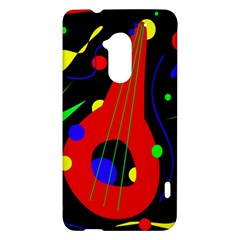 Abstract guitar  HTC One Max (T6) Hardshell Case