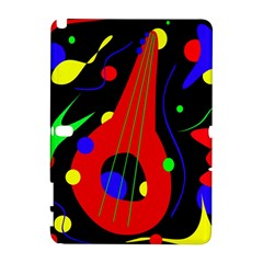 Abstract guitar  Samsung Galaxy Note 10.1 (P600) Hardshell Case