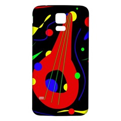 Abstract guitar  Samsung Galaxy S5 Back Case (White)