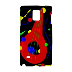 Abstract guitar  Samsung Galaxy Note 4 Hardshell Case