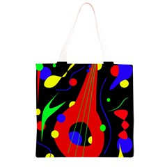 Abstract guitar  Grocery Light Tote Bag