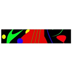 Abstract guitar  Flano Scarf (Small)