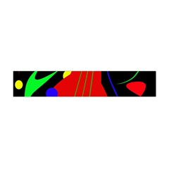 Abstract guitar  Flano Scarf (Mini)