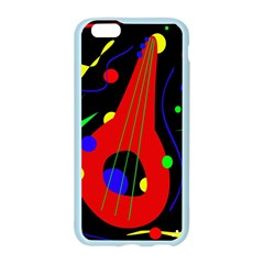 Abstract guitar  Apple Seamless iPhone 6/6S Case (Color)