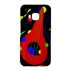 Abstract guitar  HTC One M9 Hardshell Case