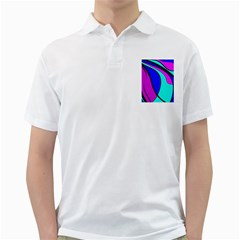 Purple and Blue Golf Shirts