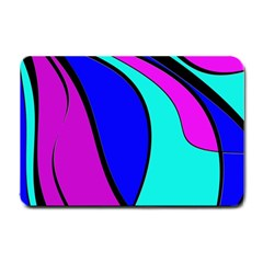 Purple and Blue Small Doormat