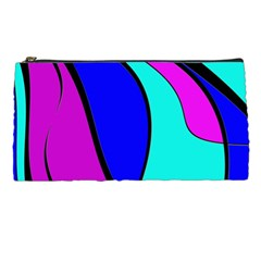 Purple and Blue Pencil Cases