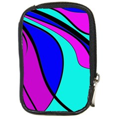 Purple and Blue Compact Camera Cases