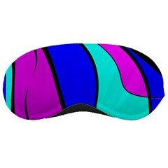 Purple and Blue Sleeping Masks