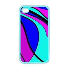 Purple and Blue Apple iPhone 4 Case (Color)