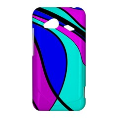 Purple and Blue HTC Droid Incredible 4G LTE Hardshell Case