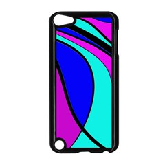 Purple and Blue Apple iPod Touch 5 Case (Black)