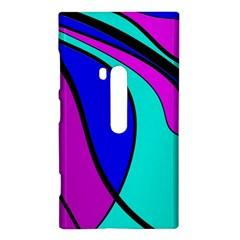 Purple and Blue Nokia Lumia 920
