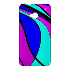 Purple and Blue HTC One M7 Hardshell Case