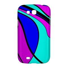 Purple and Blue Samsung Galaxy Grand GT-I9128 Hardshell Case