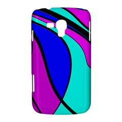 Purple and Blue Samsung Galaxy Duos I8262 Hardshell Case
