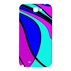 Purple and Blue Samsung Note 2 N7100 Hardshell Back Case