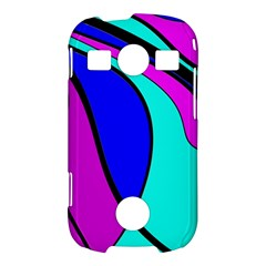 Purple and Blue Samsung Galaxy S7710 Xcover 2 Hardshell Case