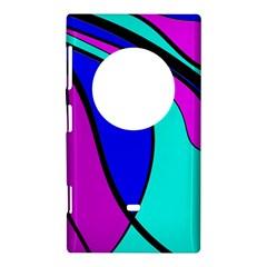 Purple and Blue Nokia Lumia 1020