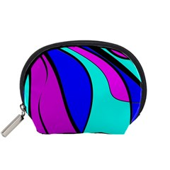 Purple and Blue Accessory Pouches (Small)