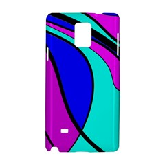 Purple and Blue Samsung Galaxy Note 4 Hardshell Case