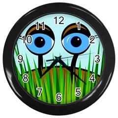 Snail Wall Clocks (Black)
