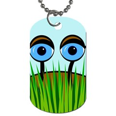 Snail Dog Tag (One Side)
