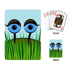 Snail Playing Card