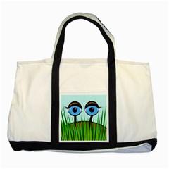 Snail Two Tone Tote Bag