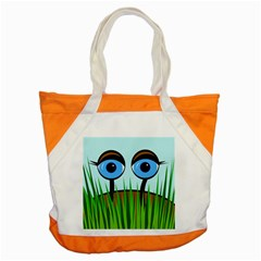 Snail Accent Tote Bag
