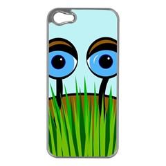 Snail Apple iPhone 5 Case (Silver)