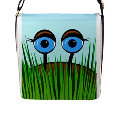 Snail Flap Messenger Bag (L)