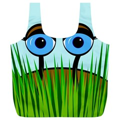 Snail Full Print Recycle Bags (L)