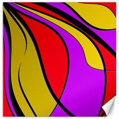 Colorful lines Canvas 20  x 20