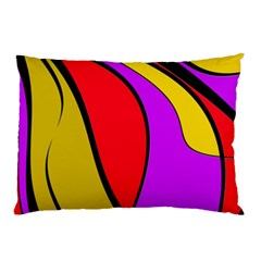 Colorful lines Pillow Case