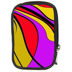 Colorful lines Compact Camera Cases