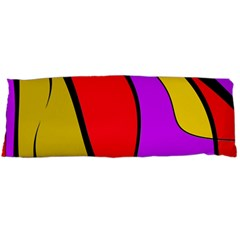 Colorful lines Body Pillow Case Dakimakura (Two Sides)
