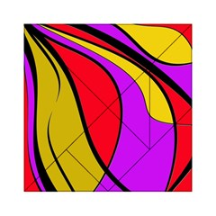 Colorful lines Acrylic Tangram Puzzle (6  x 6 )