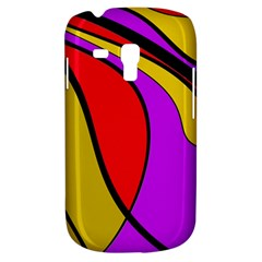 Colorful lines Samsung Galaxy S3 MINI I8190 Hardshell Case
