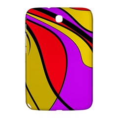 Colorful lines Samsung Galaxy Note 8.0 N5100 Hardshell Case