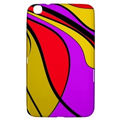 Colorful lines Samsung Galaxy Tab 3 (8 ) T3100 Hardshell Case