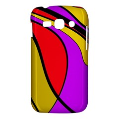 Colorful lines Samsung Galaxy Ace 3 S7272 Hardshell Case