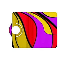 Colorful lines Kindle Fire HD (2013) Flip 360 Case