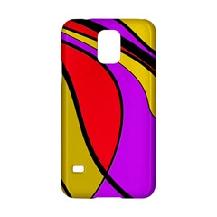 Colorful lines Samsung Galaxy S5 Hardshell Case